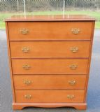 Stag Light Mahogany Chest of Drawers